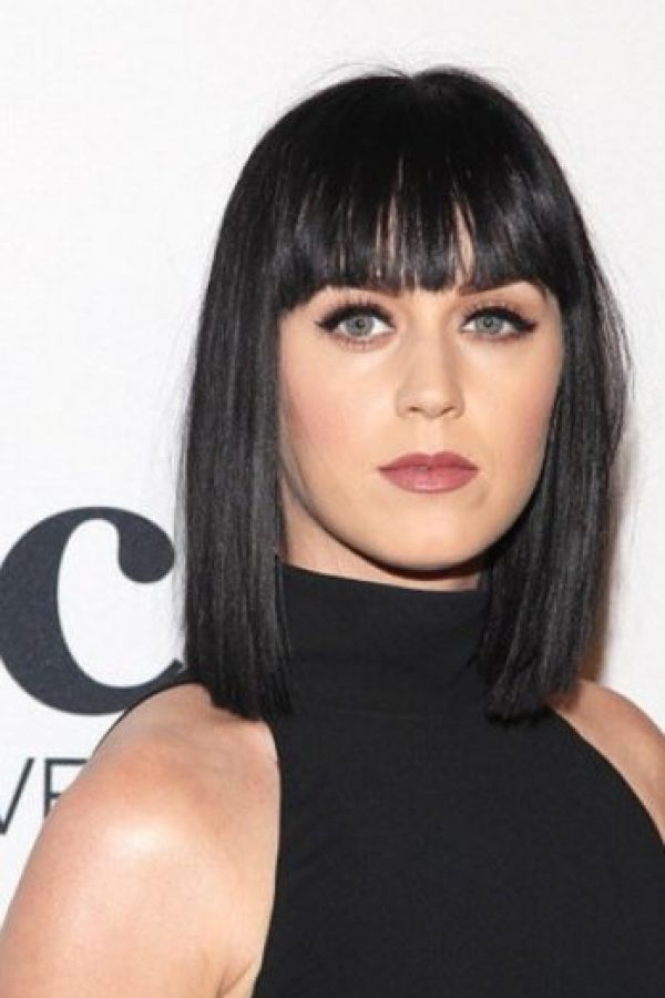 Katy Perry tenía un bob clásico Foto: Getty Images