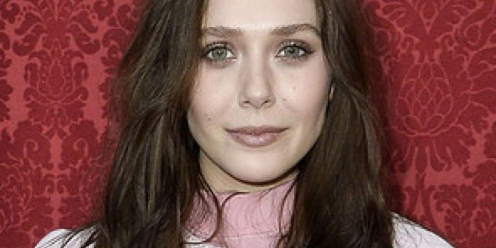 """Elizabeth Olsen cambió su pelo a castaño oscuro para """"Los Vengadores"""" Foto:Getty Images"""