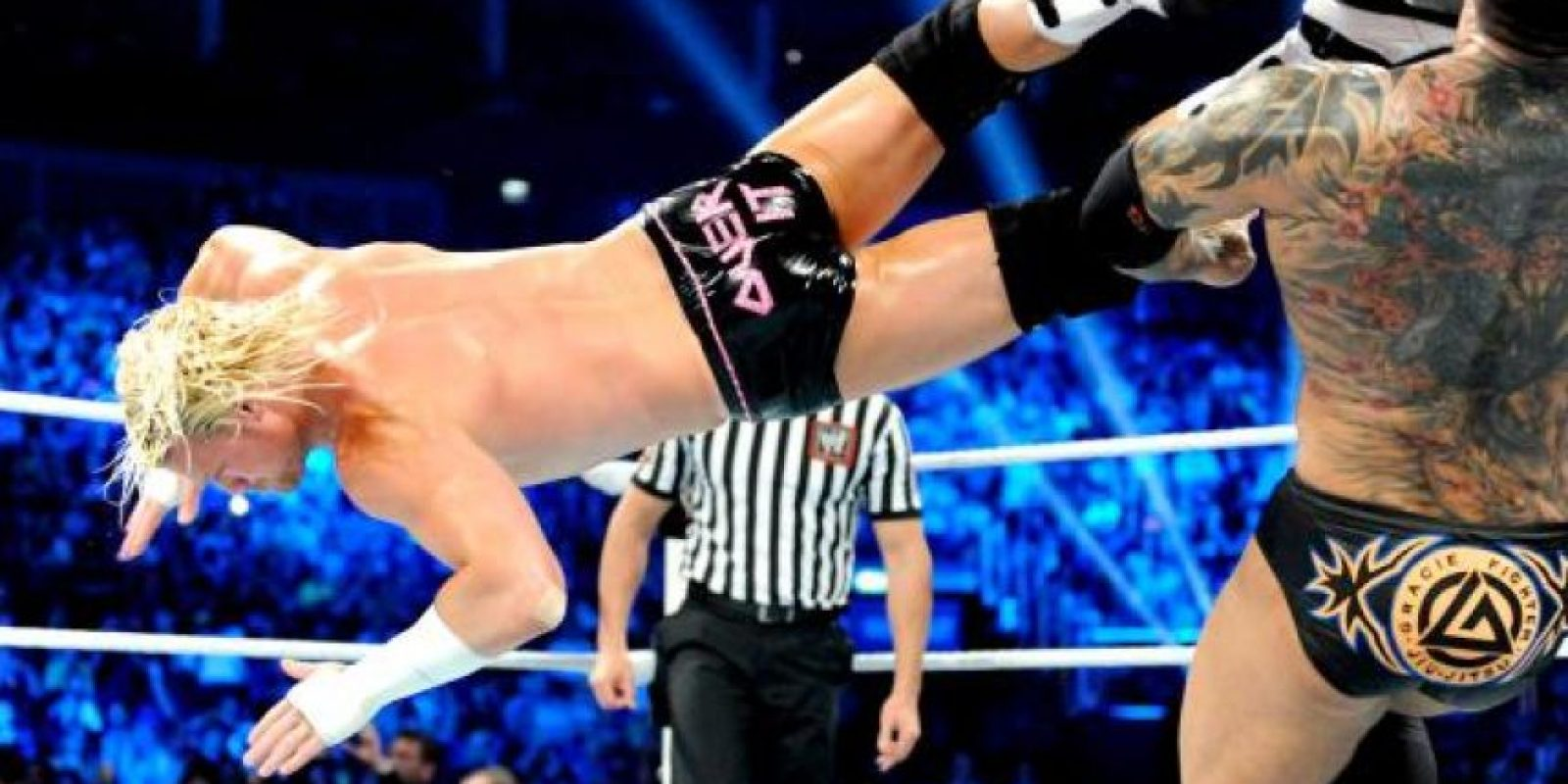El Animal tiene un Dragón chino Foto:WWE