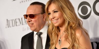 Su marido es el productor Tommy Motola Foto:Getty Images