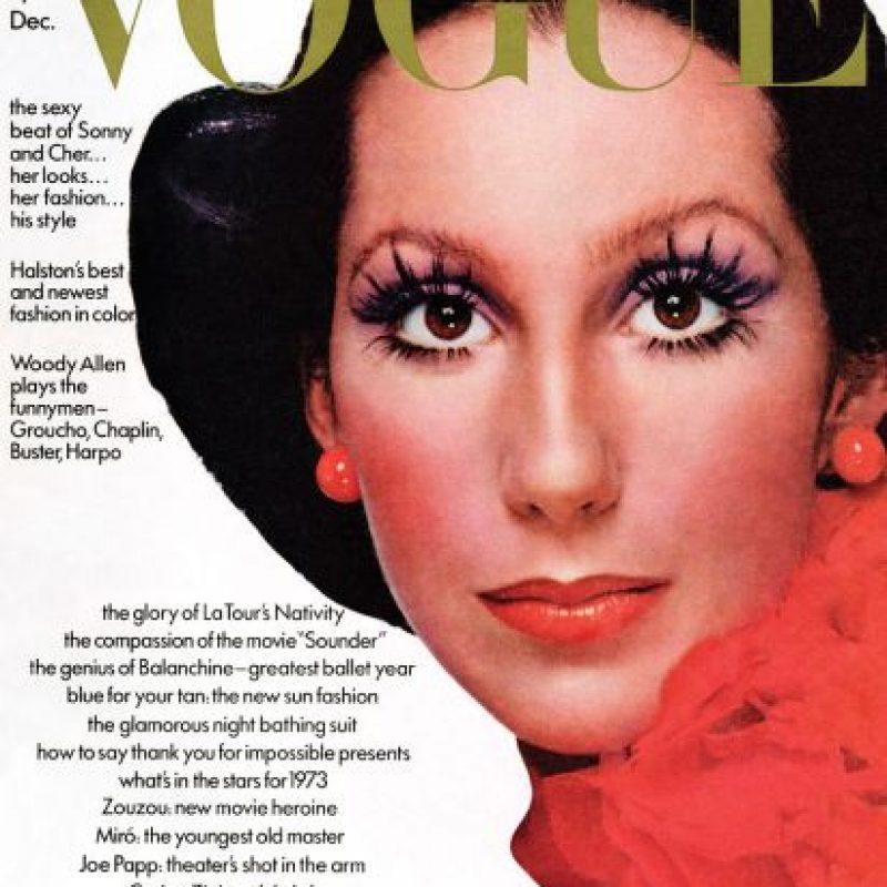 Cher, años 70. Foto:Vogue