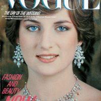 Princesa Diana, en 1981, cuando se hizo famosa por su boda con el príncipe Carlos Foto:Vogue