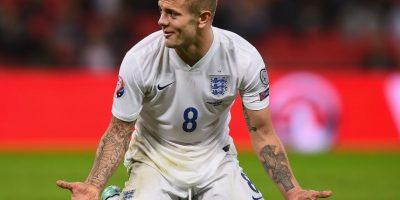 Lo primero que salta a la vista del inglés son sus brazos llenos de tattoos. Foto:Getty