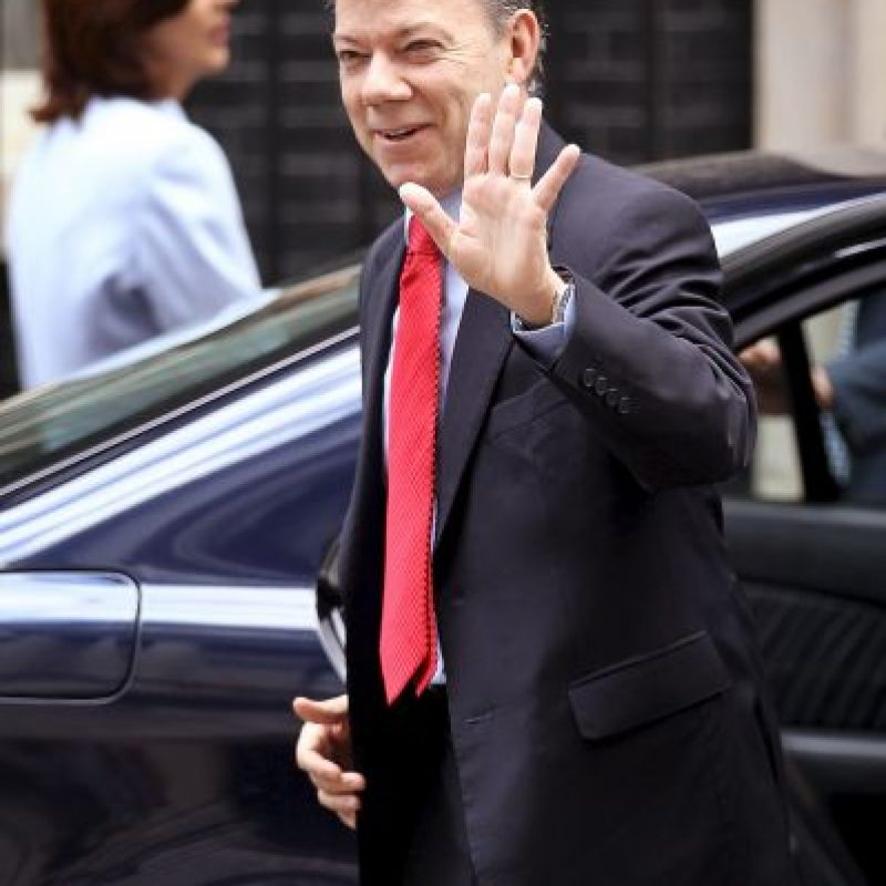 7. Juan Manuel Santos, Colombia Foto: Getty Images