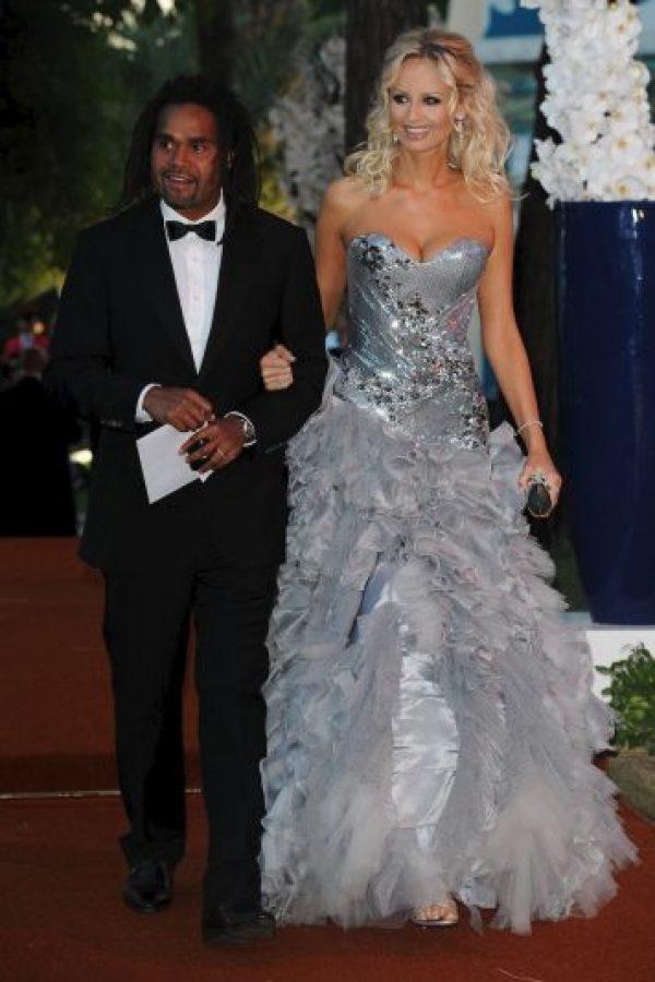 Adriana y Christian Karembeu se separaron en 2011. Foto:Getty Images