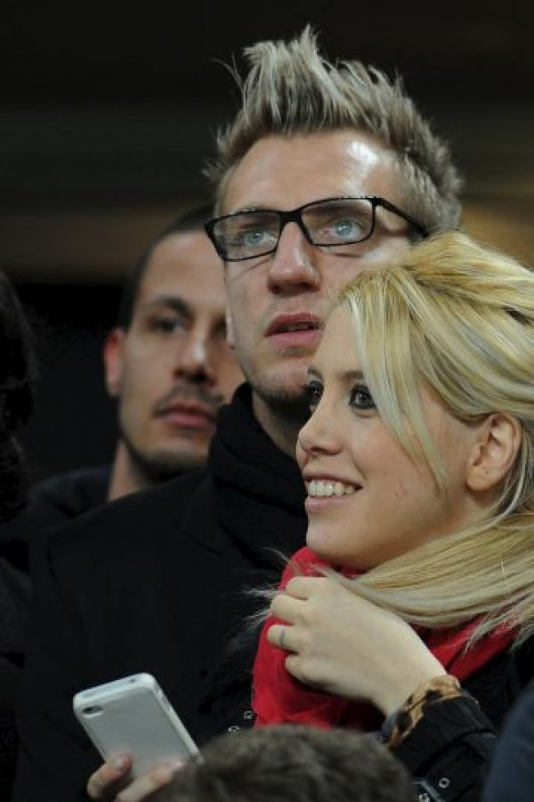 Maxi López y Wanda Nara. Foto: Getty Images