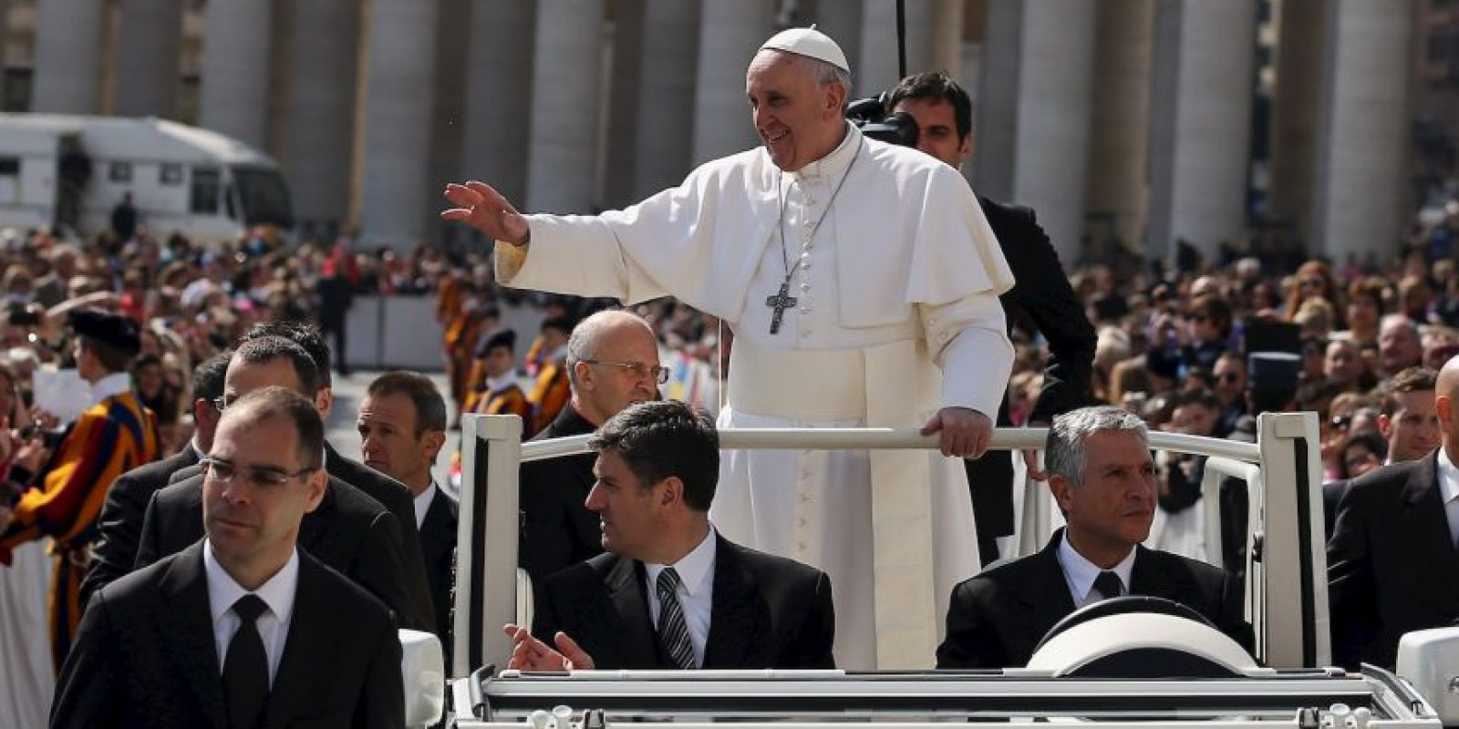 6. Papa Francisco, Estado del Vaticano. Foto: Getty Images