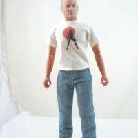 La empresa envía un boceto de cómo quedaría el rostro del muñeco y una vez que es aprobado se rellena la figura con las cenizas Foto: cremationsolutions.com
