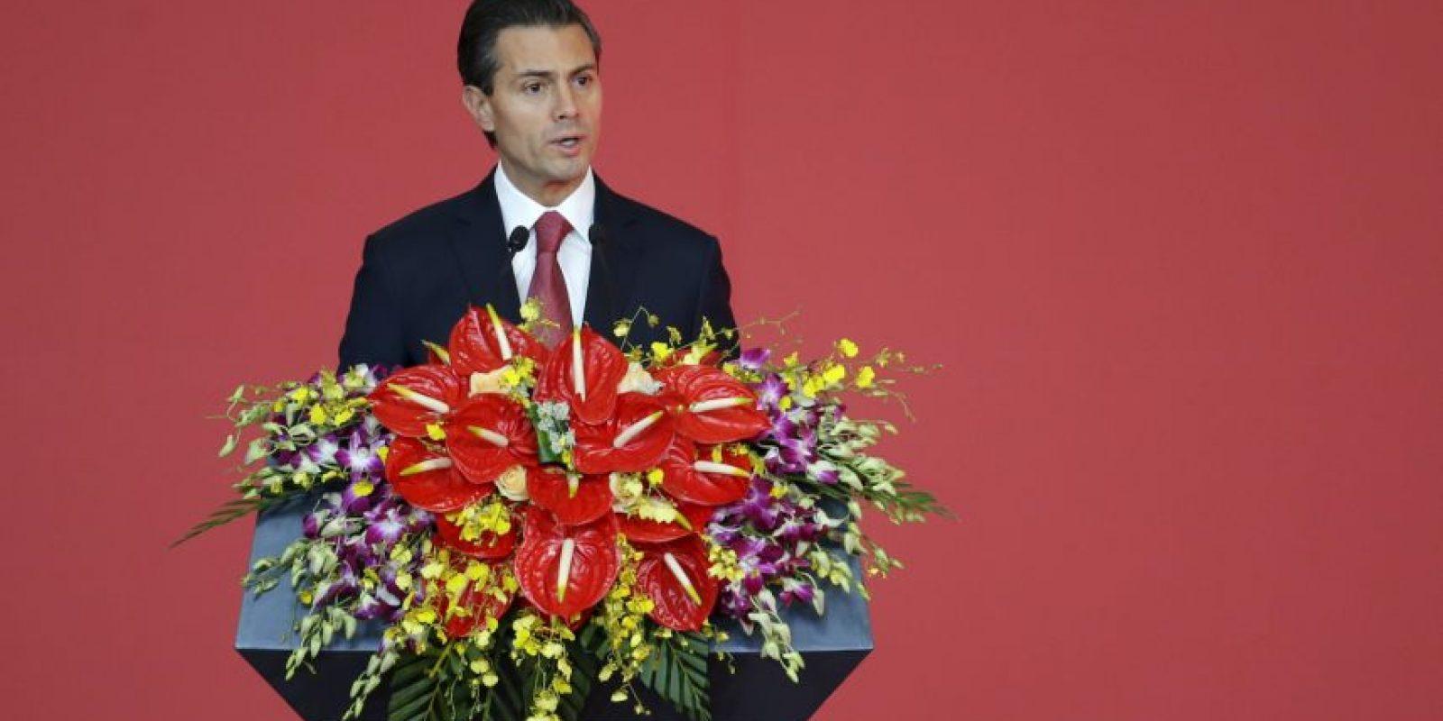 5. Enrique Peña Nieto, México Foto:Getty Images