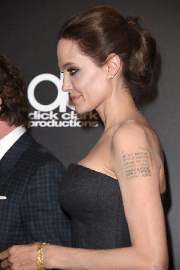 Interpretó el personaje del videojuego Tomb Raider, Lara Croft, en la película homónima Foto:Getty Images