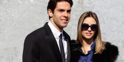 Kaká y Caroline Celico. Foto: Getty Images