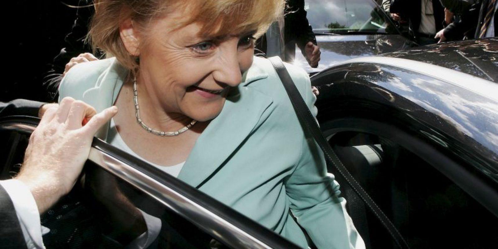 2. Angela Merkel, Alemania Foto:Getty Images