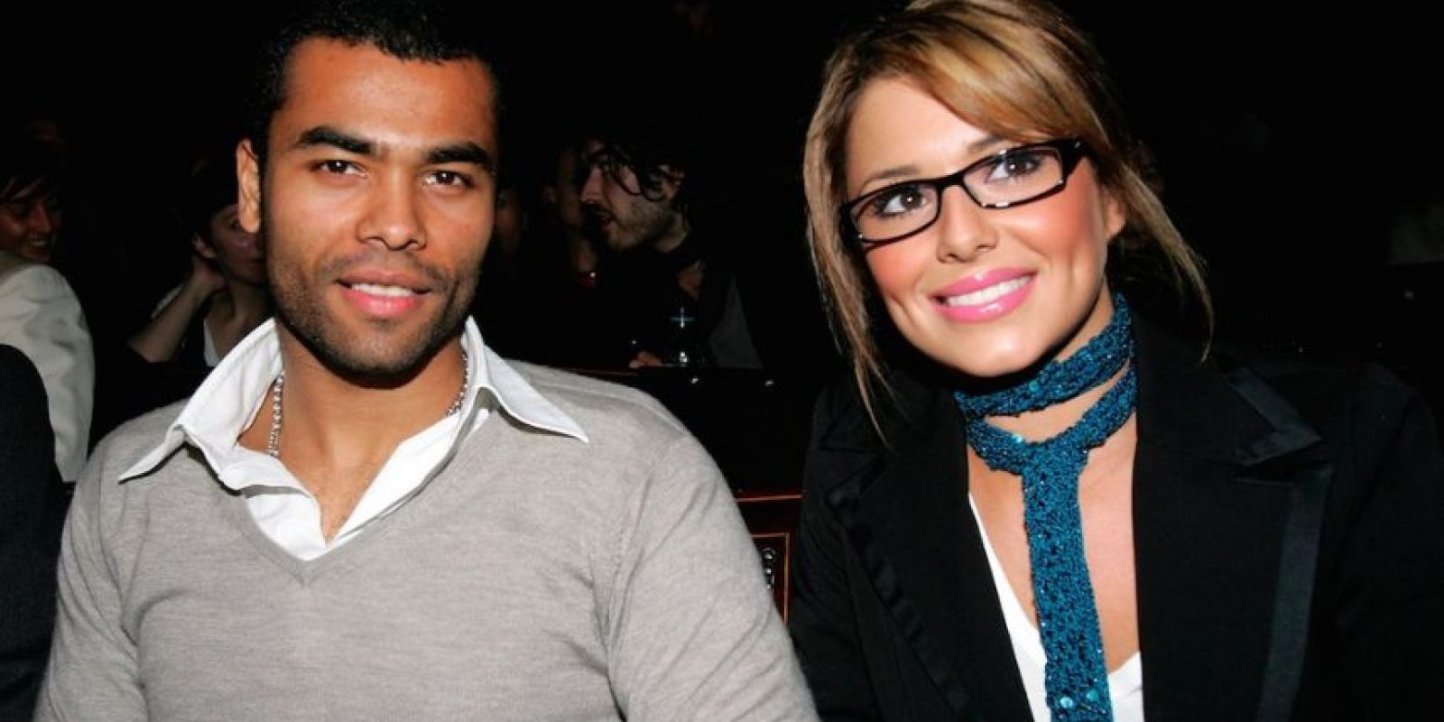 Ashley Cole y Cheryl Tweedy. Foto: Getty Images