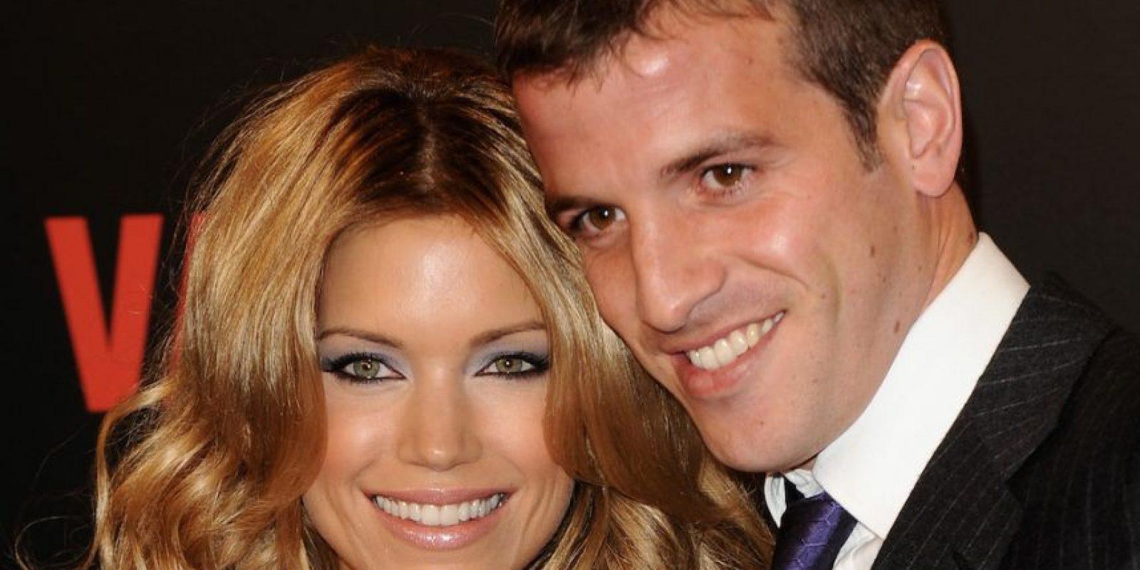 Rafael van der Vaart y Sylvie Meis se diviaron después de que el jugador holandés agrediera a su esposa el último día del año 2012. Foto:Getty Images