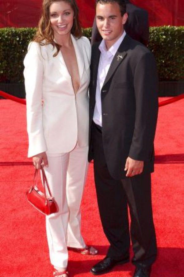 El jugador estadounidense Landon Donovan y Bianca Kajlich se divorciaron en 2011. Foto:Getty Images