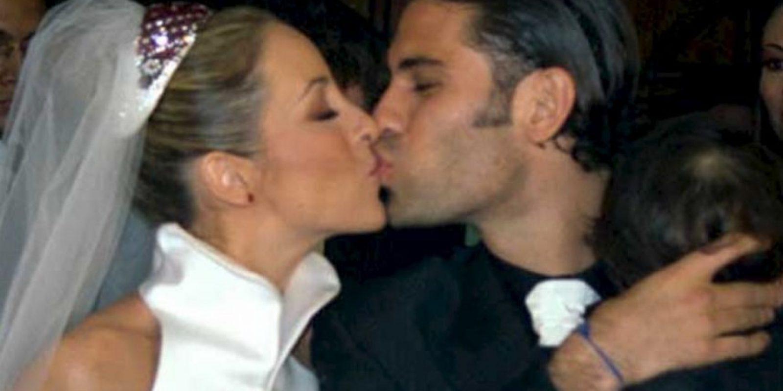 Adriana y Rafael tuvieron dos hijos: Santiago y Rafaela. Foto:Twitter