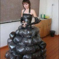 Creatividad pura. Foto:Poorly Dressed