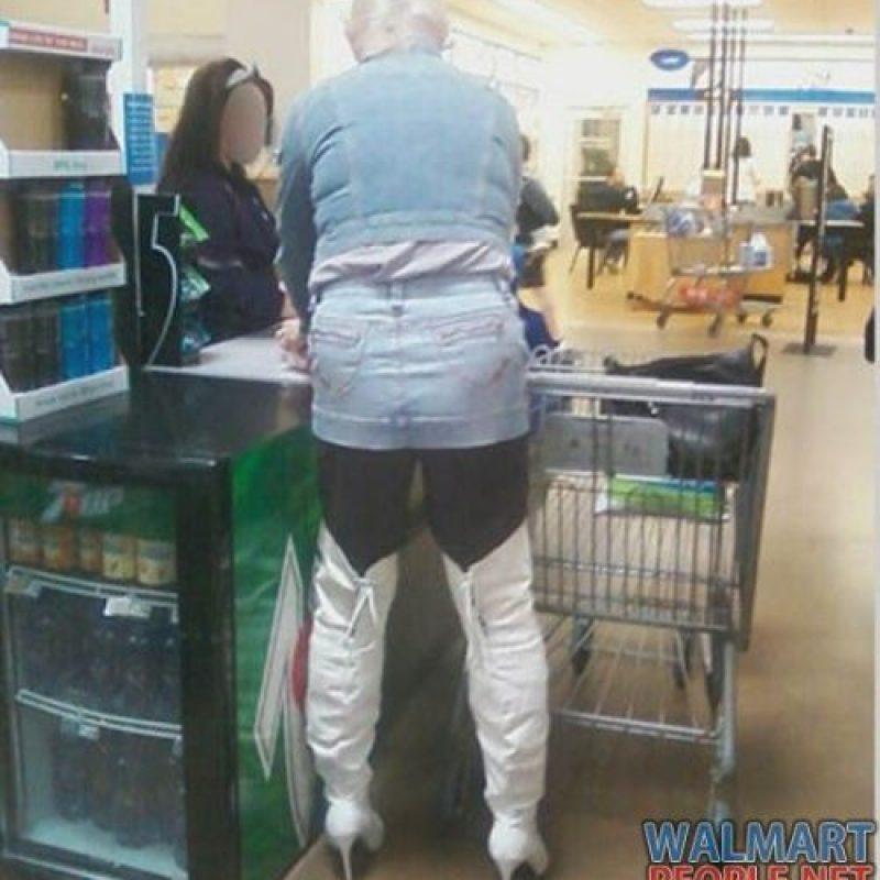 Botas altas. También para hombre. Foto:Poorly Dressed