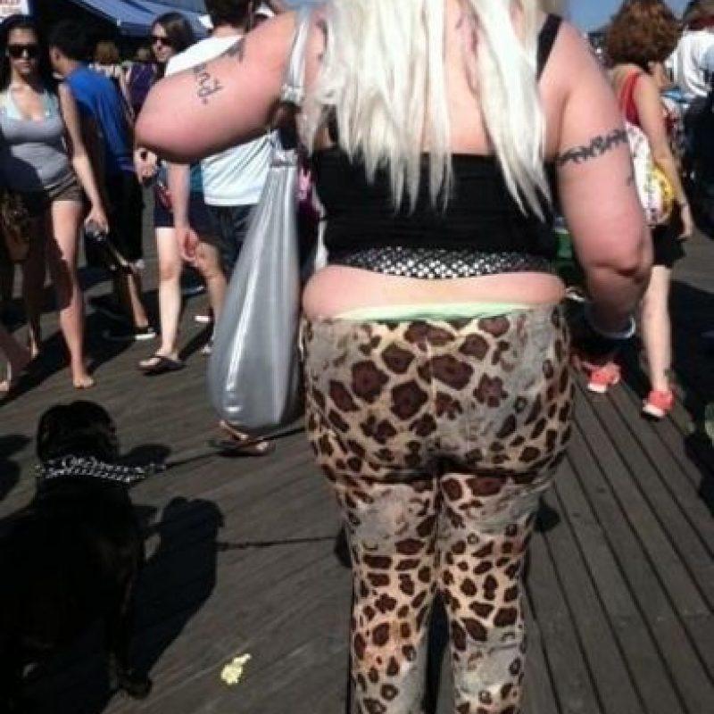 Leggings. Un clásico. Foto:Poorly Dressed