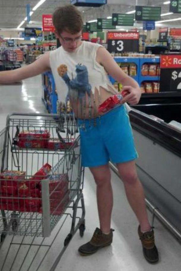 Look improvisado de verano. Foto:Poorly Dressed