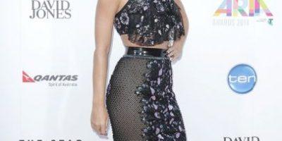 Fotos: El nuevo vestido con transparecias de Katy Perry