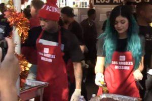 Kylie Jenner y Tyga Foto:TMZ