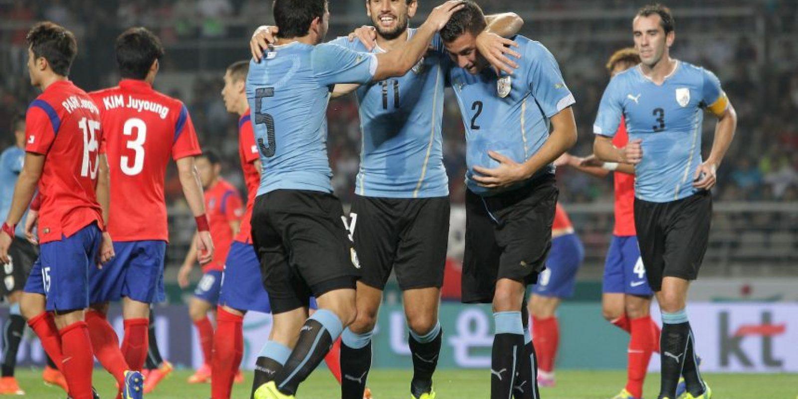 Uruguay quedó encasillado al lado de Argentina Foto:Getty