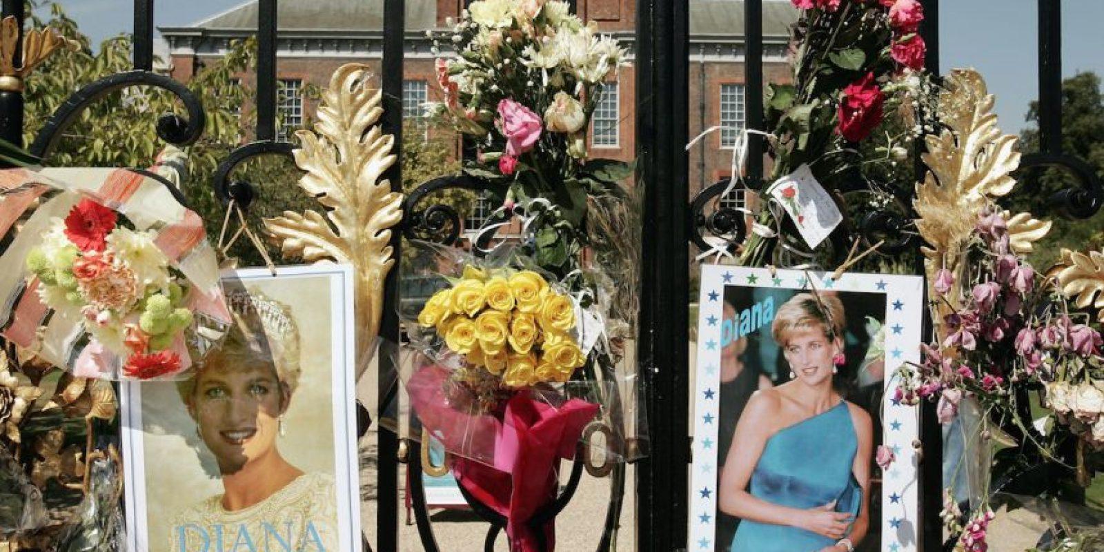 Ofrendas para la princesa. Foto:Getty Images