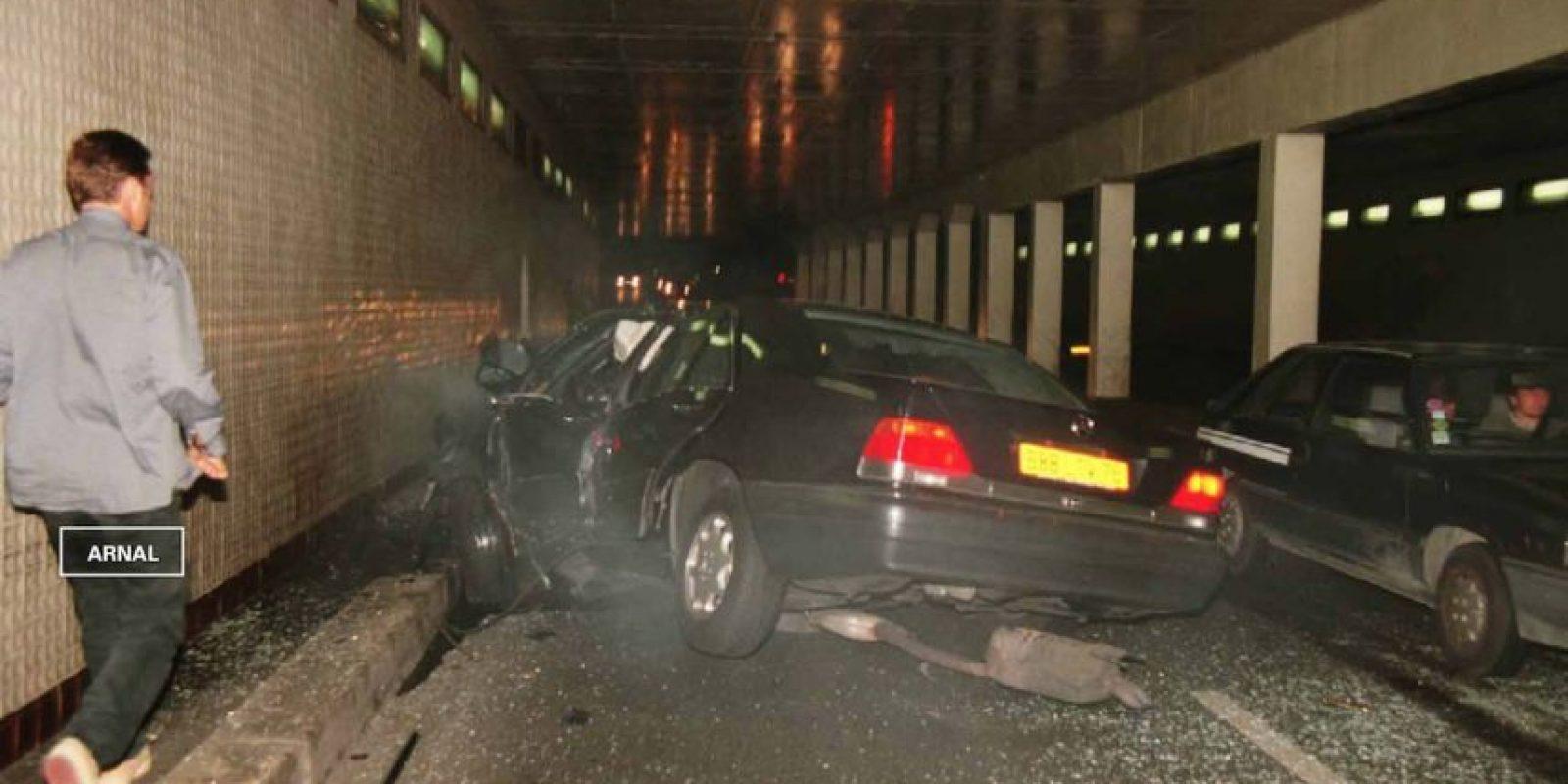 El accidente fue provocado por el chofer, Henri Paul quien perdió el control después de haber consumido alcohol y antidepresivos. Foto:Getty Images