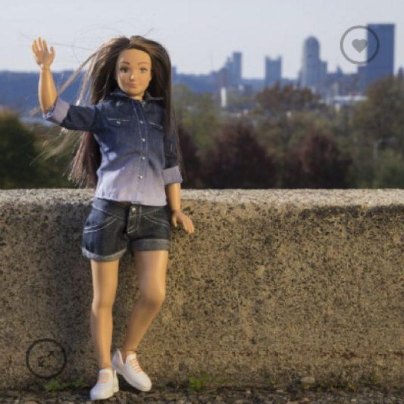 Nikolay Lamm fue la persona que se hizo célebre este año por crear la Barbie con medidas reales Foto:lammily.com
