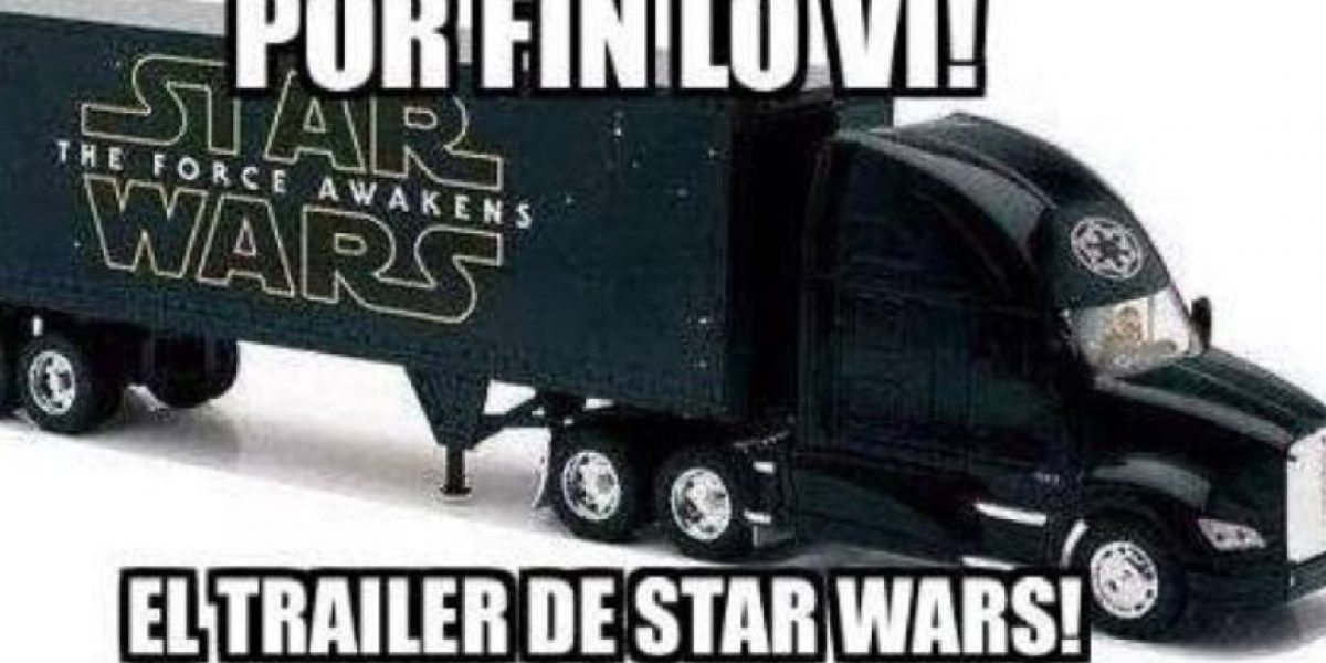 MEMES: Así recibieron el primer avance del Episodio VII de Star Wars