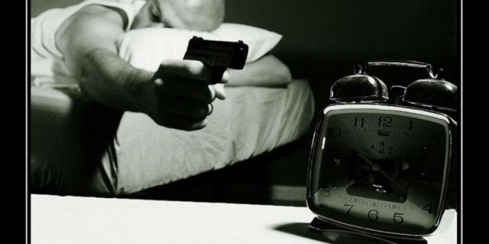 2. Que no hemos descansado debido a un transtorno de sueño. Foto:Tumblr.com/tagged/despertador