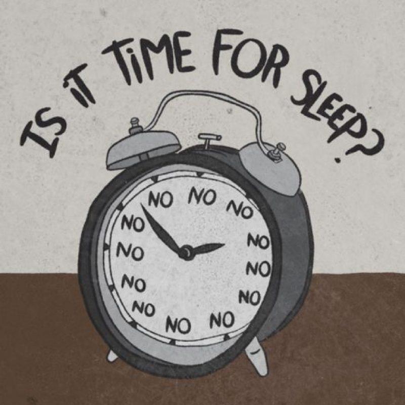 3. Padecemos un problema de salud o alimentación que nos hace estar cansados. Foto:Tumblr.com/tagged/despertador