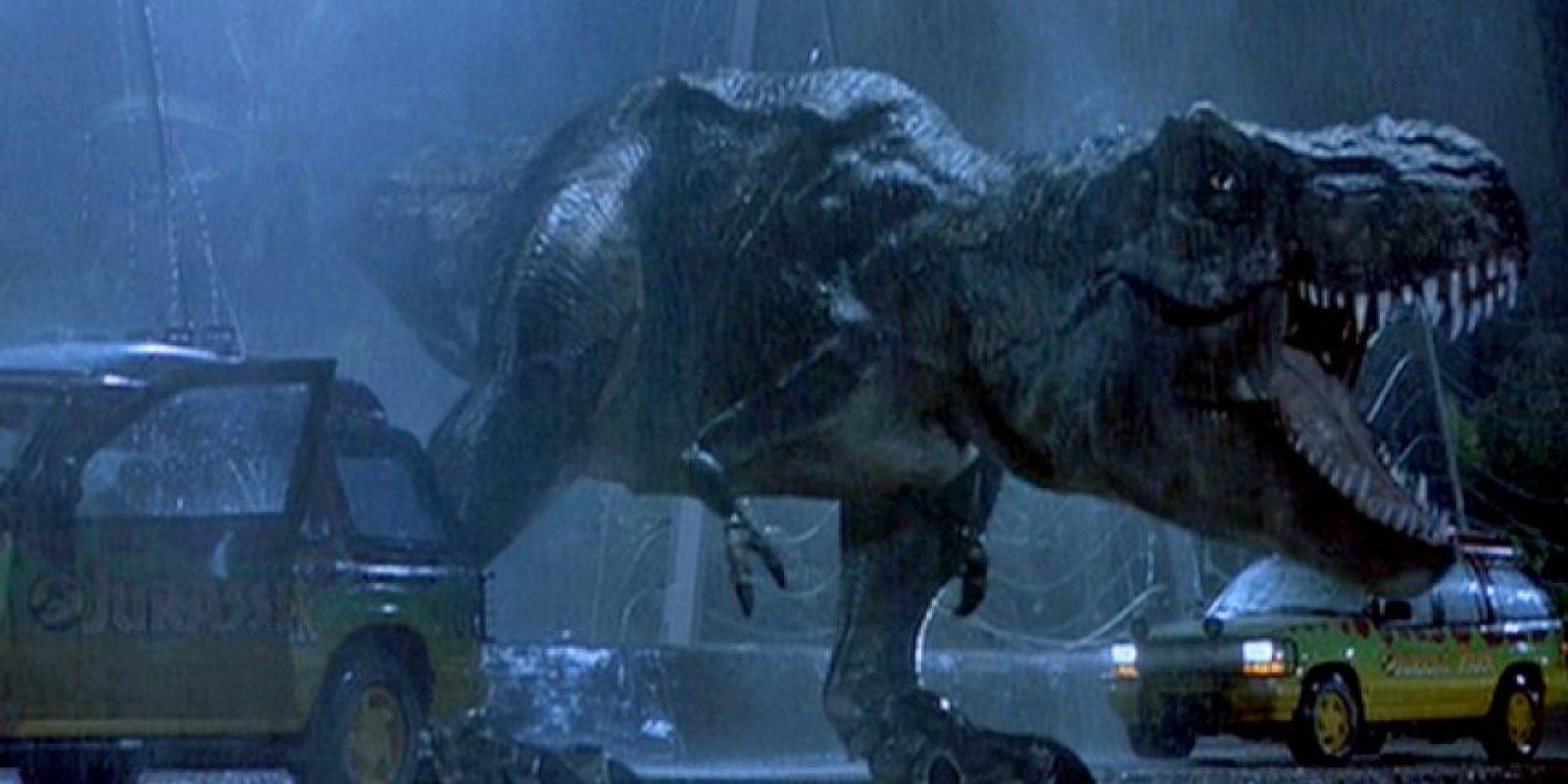 El debut del dinosaurio favorito de muchos en Jurassic Park Foto:Universal