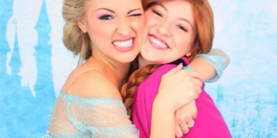Estas hermanas tardan hasta 2 horas para lucir igual que las protagonistas de Frozen Foto:Instagram/Anna Faith