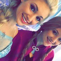 """Anna y Lexie Faith viven como las protagonistas de """"Frozen"""" Foto:Instagram/Anna Faith"""