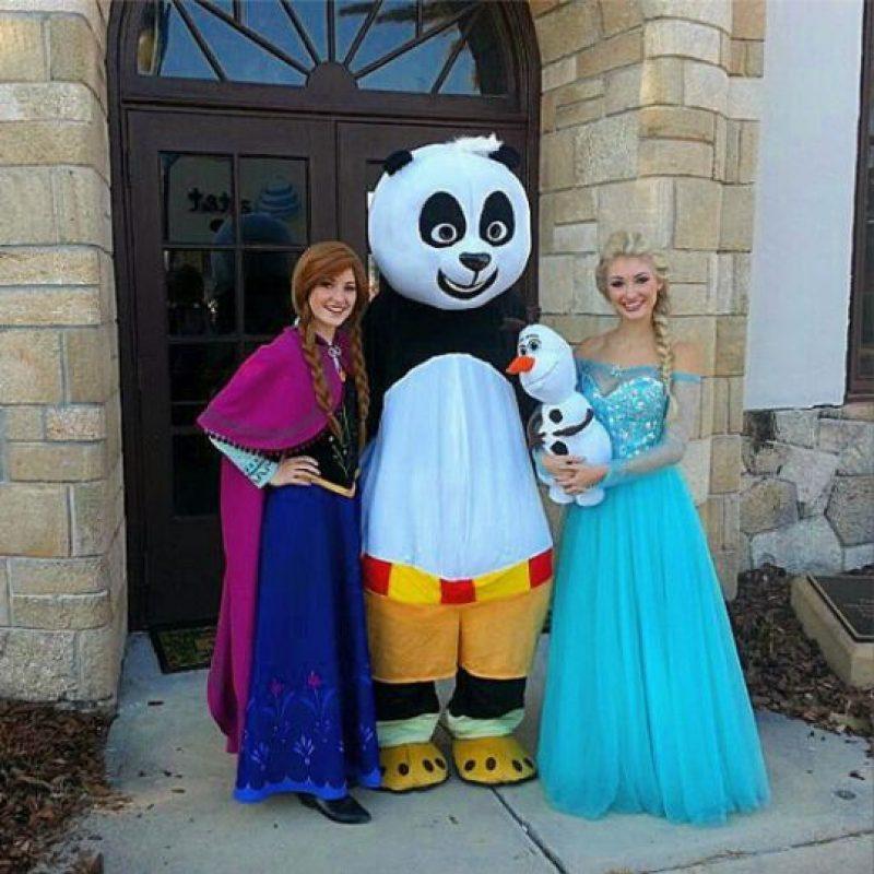 """Anna y Lexie Faith viven como las protagonistas de """"Frozen"""" Foto:Instagram/Lexiegracelove"""