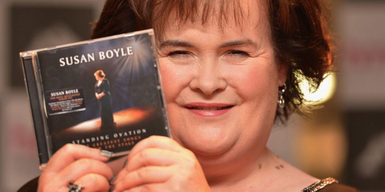 """Susan Boyle es una cantante escocesa que alcanzó el éxito en 2009, cuando participó en el reality show """"Britain's Got Talent"""". Foto:Getty Images"""