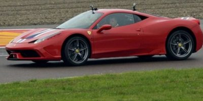 Vettel maneja por primera vez un Ferrari