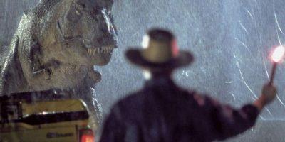 Este era el T-Rex en la primera película Foto:Universal