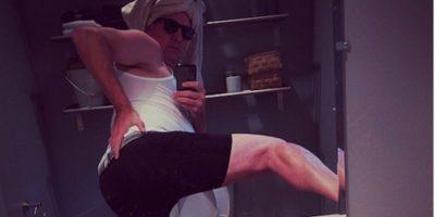 Mostrar el trasero luego de una rutina de belleza Foto:Instagram