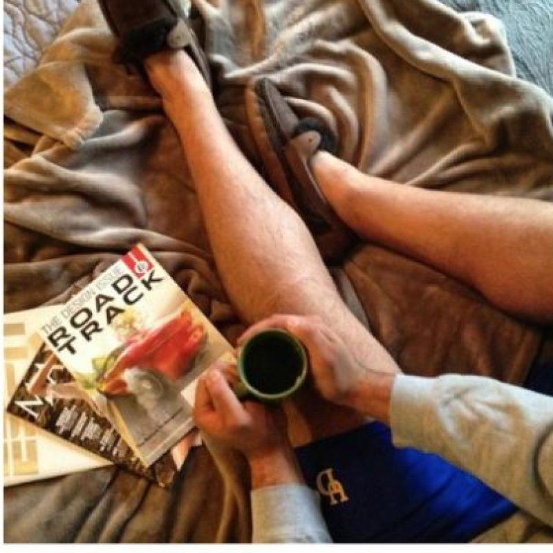Revista chic, café y sábanas (bodegones) Foto:Instagram