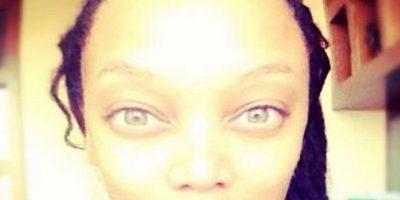 Tyra Banks en una foto muy extraña Foto:Instagram