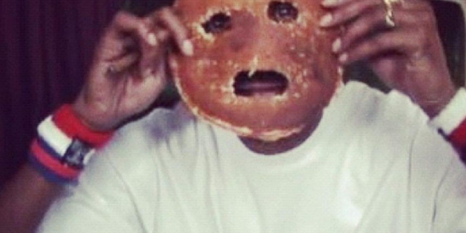 Snoop Dogg y su cara de pancake Foto:Imgur