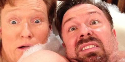 Ricky Gervais y Conan O' Brien Foto:Instagram
