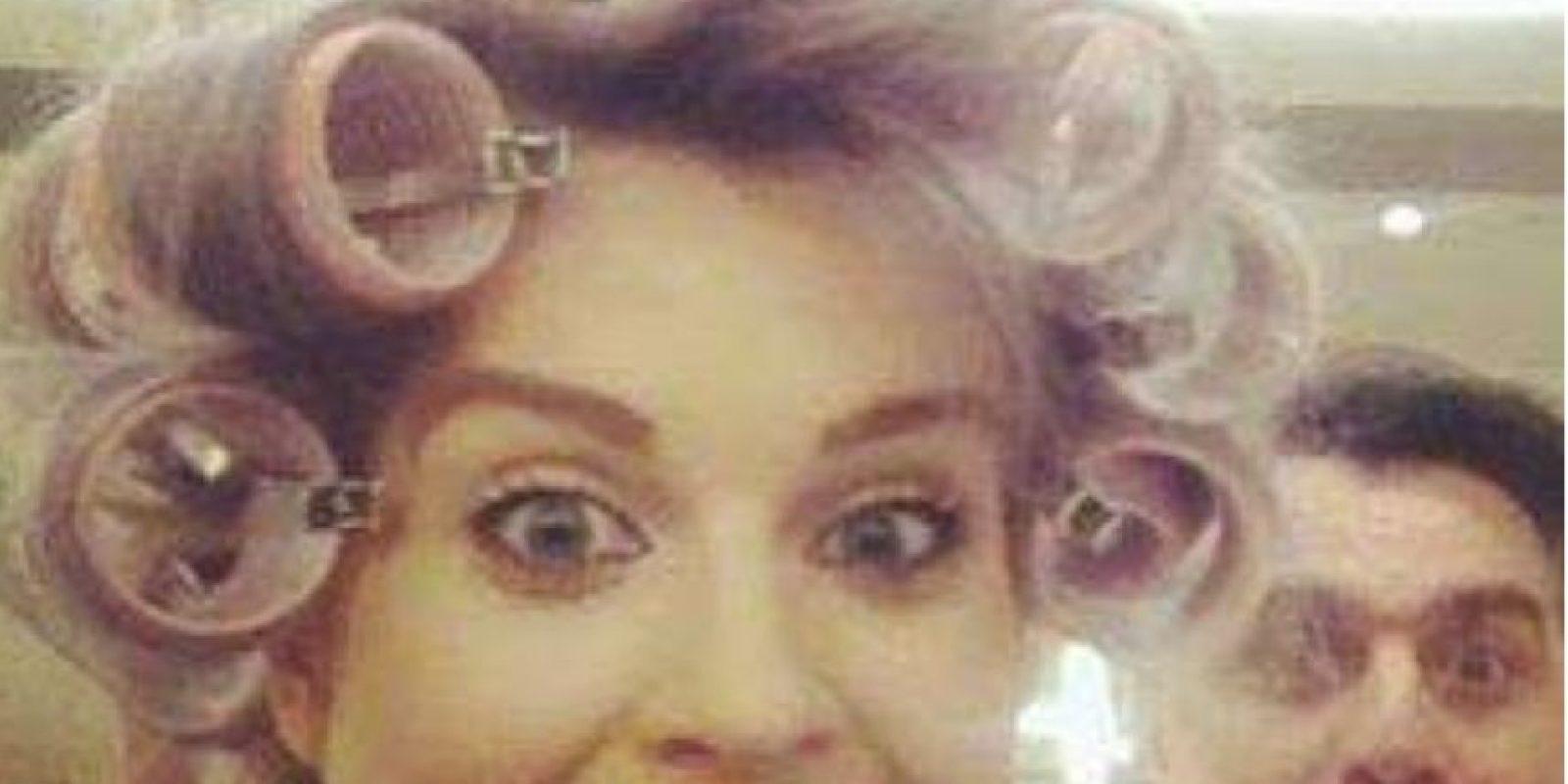 "Kelly Osbourne y su look ""Doña Florinda"" Foto:Instagram"