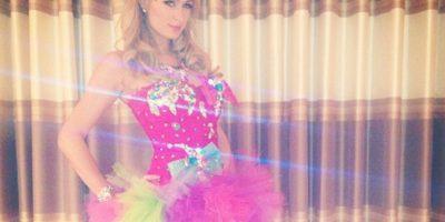 Paris Hilton le ganó a Sailor Moon Foto:Instagram