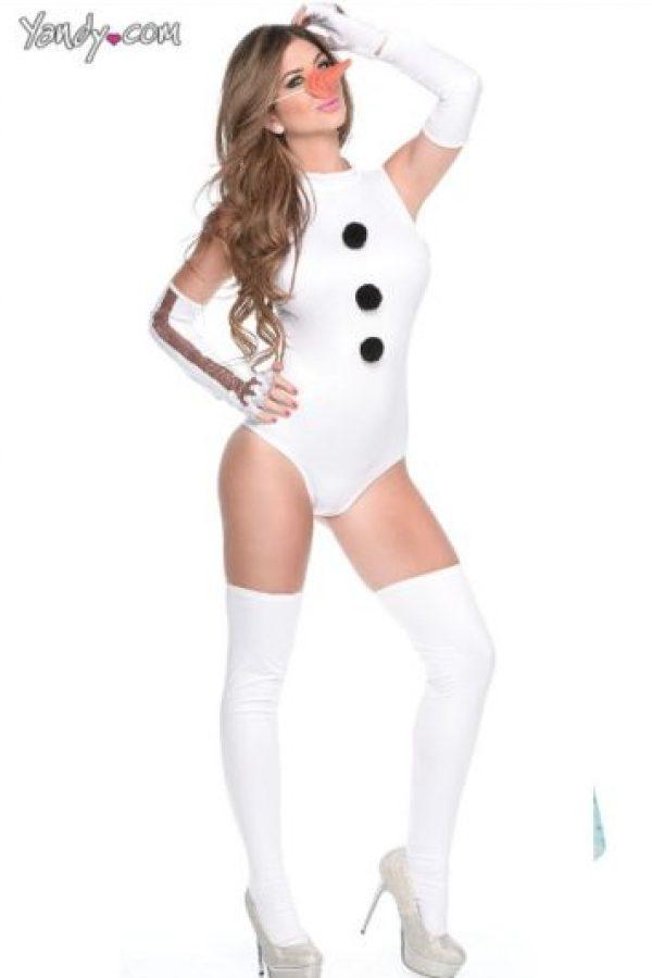 Sexy Olaff. El muñeco de nieve ya n oserá visto de la misma manera Foto:Yandy