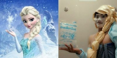 """FOTOS: Los 22 peores disfraces de """"Frozen"""""""