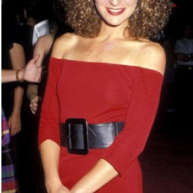 Jennifer Grey, cuando era famosa en los 80 Foto:Getty Images